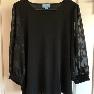 Cece Women's Blouse Size Large